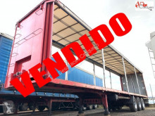 Used tautliner semi-trailer Lecitrailer 3E20