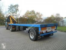 Van Hool flatbed semi-trailer