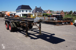 semi remorque Nooteboom Container chassis 2-assig/kipper/20ft