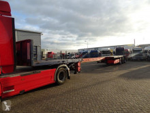 Nooteboom OVB-42-03-V / STEERING / 21.40 MTR LENGTH / WITH TUV / 1999 semi-trailer used flatbed