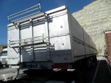 Lecitrailer scrap dumper semi-trailer 3E20 SEMIRREMOLQUE VOLQUETE CAJA ABIERTA.