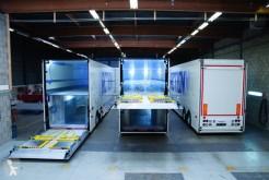 Naczepa furgon piętrowy załadunek Burgers Carrosserie NEUF - Double étages 2 ou 3 essieux pour transports de 54 Euro Palettes
