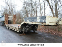 Kaiser heavy equipment transport semi-trailer 3 Achser Satteltieflader