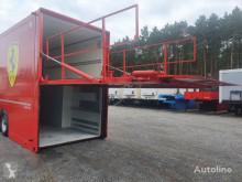Semi reboque Langendorf - 2010 PODWÓJNY ZAŁADUNEK DO KOSMETYKÓW MOTORÓW Flexliner Inloader furgão usado