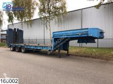 Louault Lowbed 54000 KG, B 2,47 + 2 x 0,25 mtr, Steel suspension, Lowbed