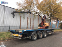 Trax open laadbak Kennis 11000 R Crane semi-trailer used flatbed