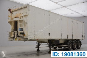 Trailer kipper Fruehauf 61 cub in alu