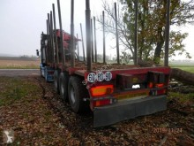 Used timber semi-trailer Friedrich