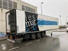 Lecitrailer semi-trailer used mono temperature refrigerated