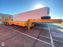 Flatbed semi-trailer KM 75ton semi LOWBED