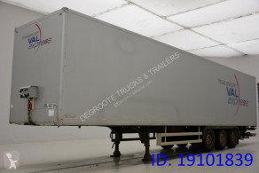 Trouillet Box semi-trailer semi-trailer used