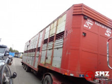 Jumbo Oplegger semi-trailer used cattle