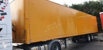 Alcar semi-trailer used plywood box