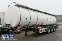 Полуремарке Chiavetta S-SCN, isolierter Edelstahl Tank, 32m³ цистерна втора употреба