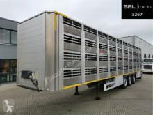 naczepa do transportu zwierząt używany