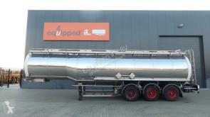Dijkstra Dijkstra, 37.500L/1-comp/4 baffels, ADR, BPW, NL-trailer semi-trailer