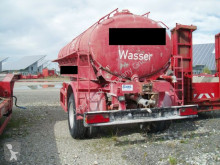 Полуприцеп Grube HLS 90 45/1 Wassertank Auflieger цистерна б/у
