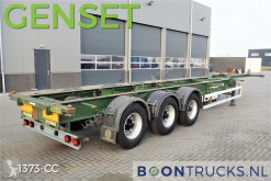 semi remorque HFR SB24 + GENSET 2011 | 40ft HC * 1041 HOURS * 4460 Kg Netto *