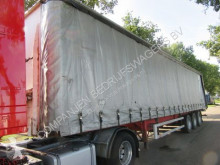 Burg O4/DA semi-trailer used tautliner