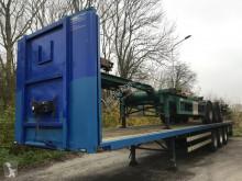 Pacton T3-001 open omega vloer semi-trailer
