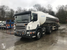 semi remorque Maisonneuve TANK IN STAINLESS STEEL 25000 L+SCANIA P400
