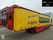 Meusburger heavy equipment transport semi-trailer
