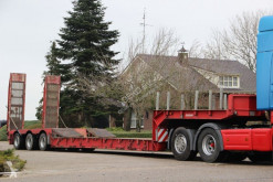 Semi remorque Nooteboom EURO-48-03 EXTENDABLE,3 steeraxles, ramps! porte engins occasion