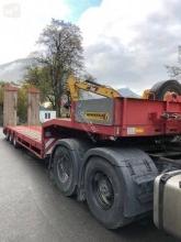 Faymonville 3 essieux directionnel heavy equipment transport