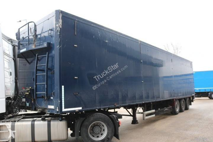 Moving floor semi-trailer used Stas V