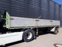 Floor dropside flatbed semi-trailer