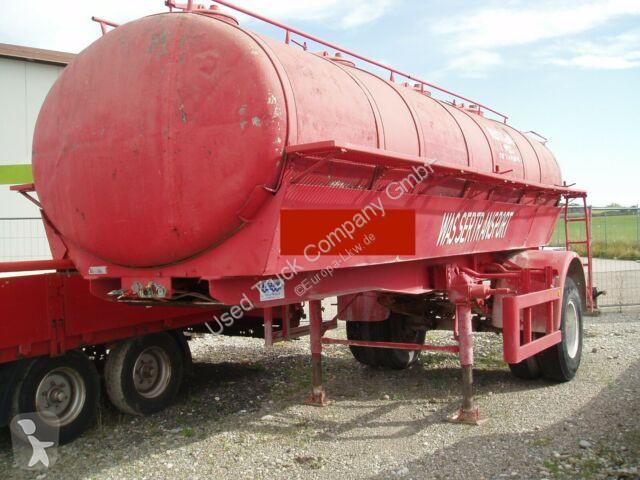Vedere le foto Semirimorchio nc Grube HLS 90 45/1 Wassertank Auflieger