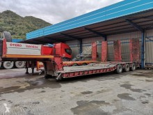 Trayl-ona 3 EJES semi-trailer used heavy equipment transport