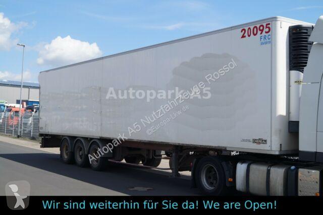 Voir les photos Semi remorque Chereau Kühlkoffer Tiefkühler Carrier SMB-Achsen