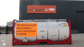 nc 10% DISCOUNT ON ALL TANKCONTAINERS, BIG VARIED STOCK (Around 60 pieces), STARTING FROM €5.400,00