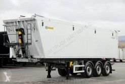 Yarı römork Zasław TIPPER 46 M3 / LIFTED AXLE / LIKE NEW 2018 /