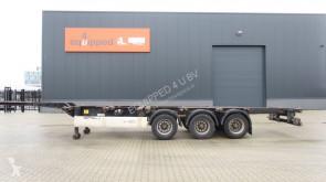 Semi remorque Krone 40FT HC, Leergewicht: 5.280kg, hinten-ausziehbar, NL-Chassis porte containers occasion