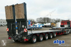 Goldhofer STZ-L5-52/80, 5 achser/68 t. GG/doppelte Rampen! semi-trailer used heavy equipment transport