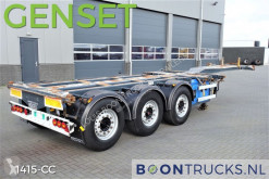 semi remorque D-TEC FT-43-03V + GENSET | DISC BRAKES * 20-30-40-45ft HC