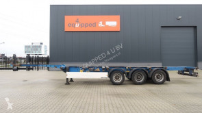 Krone 40FT HC, extendable at the rear, NL-Chassis, APK: 05/2020 semi-trailer