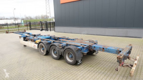Semitrailer containertransport begagnad Krone 45FT-HC, BPW, extendable at the rear, NL-chassis, 2x available