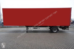 semi remorque Fruehauf CLOSED BOX STEERING AXLE