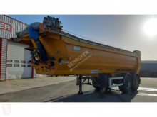 Kaiser Acier semi-trailer used construction dump