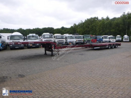 Semiremorca Nooteboom semi-lowbed trailer extendable 14.5 m + ramps platformă second-hand