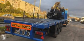 Used timber semi-trailer Trailor