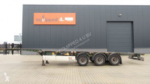 semi remorque Krone 40FT HC, empty weight: 5.280kg, extendable at the rear, NL-Chassis, BPW, Apk: 04/2020