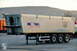 semiremorca Mega NOVA / TIPPER 46 M3 / LIFTED AXLE / FLAP-DOORS