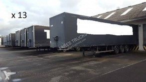 Trouillet plywood box semi-trailer