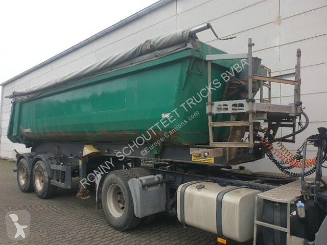 Voir les photos Semi remorque Schmitz Cargobull SKI 18 -7.2  18 - 7,2, 24 cbm Hardoxmulde, Liftachse