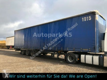 semi remorque Schmitz Cargobull SCS24 Pritsche + Plane SAF-Achsen