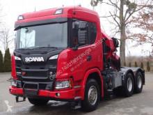 semi remorque Scania G500 6x4 Euro 6 SZM Kran Palfinger PK42002
